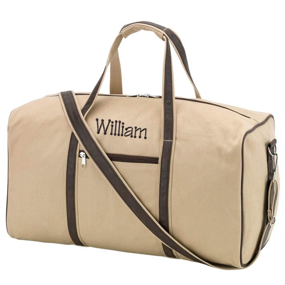 monogram duffel bag personalized duffle bag womens mens
