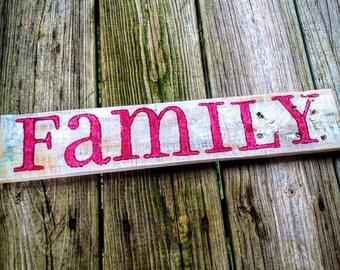 Family - Burgundy