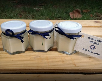 5 Soy Minis - Wedding Favor Candles - Bulk Candles - Bulk Soy Candles - Wedding Candle Favors - Baby Shower Favors - Bridal Shower Favors