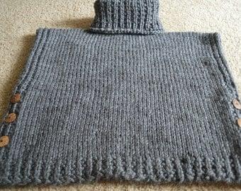 Cowl Neck Pullover Tunic Size Fourteen/Sixteen Acrylic