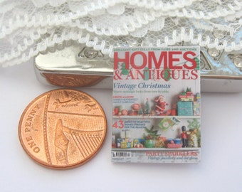 dollhouse magazine homes and antiques 12th scale miniature