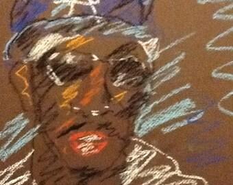 Original Pastel Sketch from Artisan - P. Diddy