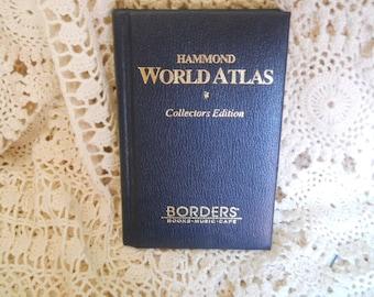 Hammond World Atlas collectors addition 7 by 4.5