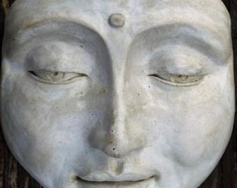 Handmade Tranquil Zen Buddha Garden Sculpture, Garden Art Decor