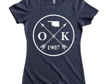 Homeland Tees Oklahoma Arrow Women's T-Shirt