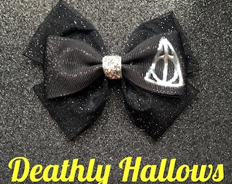 Deathly Hallows inspired bow