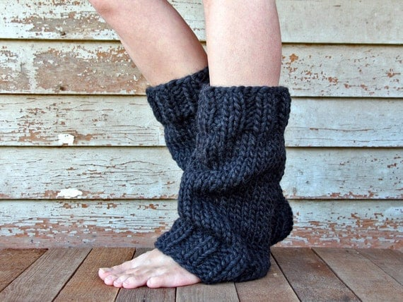 Knitting Pattern Leg Warmers Bulky Yarn : Super Bulky Leg Warmers Knitting Pattern UNDERSTANDING a