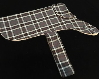 Aussie Flannelette Dog Coat - Small Only