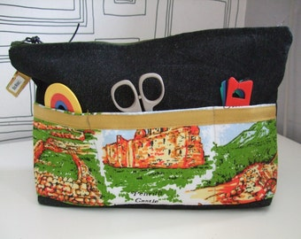 Medium Project Bag for Knitting/Crochet