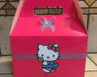 Hello Kitty favor boxes