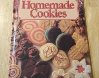On Sale Better Homes and Gardens Homemade Cookies Hardback  Cookbook 1989