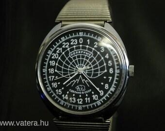 Raketa Russian POLAR BEAR HUNT 24 hour watch NOs