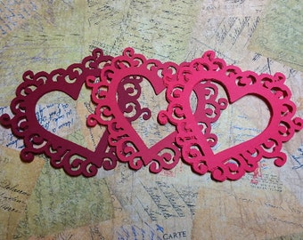 Decorative Hearts Frames.     #RAY-7