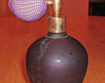 Vintage Purple Perfume Bottle