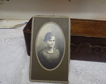 Vintage Black and White Photograph Lady Antique Photography  B157