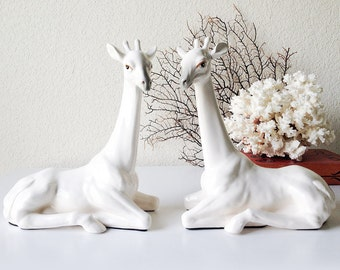 vintage pair of horse statues by sadrosetta on etsy