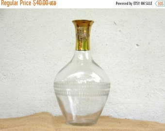ON SALE Antique Glass Decanter