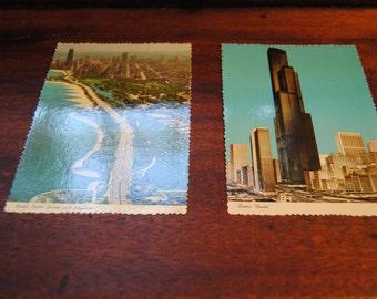 Vintage Postcards/Chicago Postcards/Sears Tower/FWB