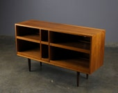 Danish Modern TV Stand Walnut