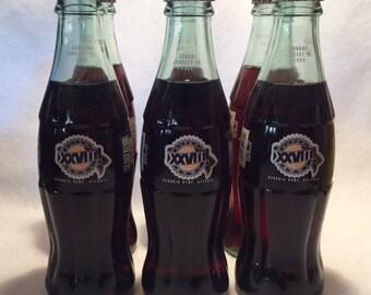 Coca Cola 1994 Super Bowl 28 Tempe AZ full 6 pack of Coke bottles