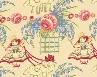 BonBon  BeBe Collection Little Bo- Peep RJR Fabric 1/2 Yard