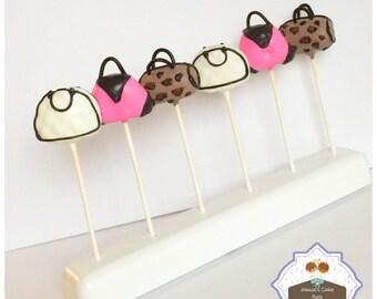 Purse / Shopping Cake pops