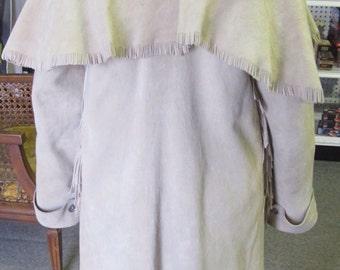Super Soft Elk Skin Coat