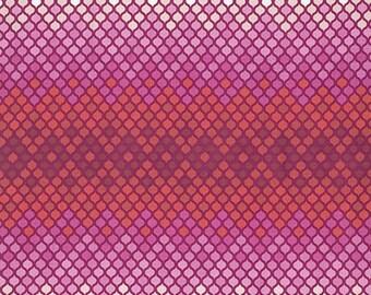 Free Spirit Tula Pink Eden Collection - Mosaic Magenta