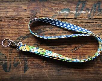 Fabric Lanyard; ID Badge Holder; Keyring