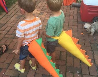 Dinosaur Tail, Dragon Tail, Dinosaur Costume, Dinosaur Dress up, Toddler Dinosaur Tail, Dino Dress-up, Dino Tails, Dino Costume, kids tails