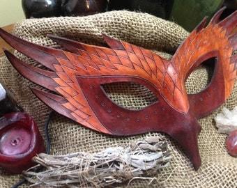 Phoenix Leather Mask