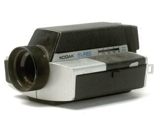 Vintage Super 8 Camera, Kodak XL320 Camera, Video Camera, Movie Camera, Home Decor Camera, Collectible Vintage Camera (C1158)