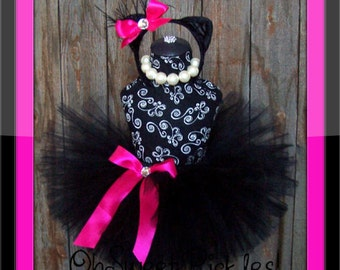 MIDNIGHT Kitty - HALLOWEEN COSTUME  - Sizes 0, 3, 6, 9, 12, 18, 24 Months, 2t, 3t, 4t, 5t