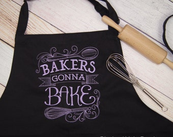 Bakers Gonna Bake - Baking Embroidered Apron - Gift for Backer Kitchen Apron - Womens Apron - Funny Apron - Bakers Apron - Housewarming Gift