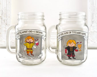 Tyrion Lannister Drinking Jar