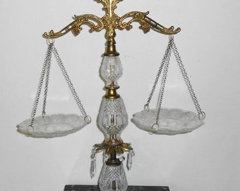 Vintage Scales Of Justice Etsy