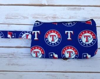 Texas Ranger Baseball Clutch - Ready to Ship