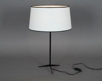 White Table Lamp Naunyn