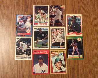 50 New York Yankees Baseball Cards