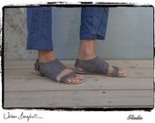 Hand Made Leather Mule for Woman - GLADIS SANDALS