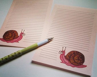 10 sheets of Snailmail Stationery & 5 envelopes