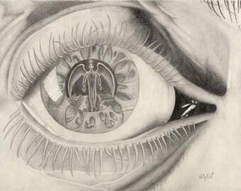 Third Eye - Original Art