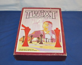 TWIXT GAME Avalon HIll 1976 Bookshelf Game