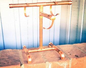 Sleek Display, Copper Jewelry Stand, Simple Jewelry Display Stand, Necklace Stand, Sales Stand, Copper Display, Bracelet Holder