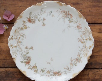 Vintage French Limoges Serving Platter