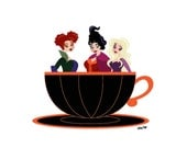 Tea Time with the Sanderson Sisters!