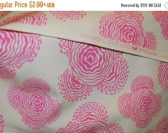 SALE 10% OFF Amy Butler Fabric - Midwest Modern - Rosy, soft pink -100 Percent High Quality Cotton Rare - Great Price
