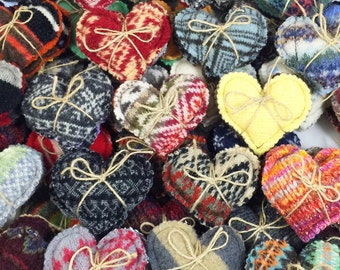 Lot of 100 Hand Warmers, Pocket Warmers, Sachet. Recycled Wool, Reusable, Microwavable