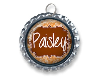 Pet ID Tag | Paisley (Available in 33 Colors!)