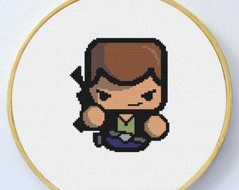 HAN SOLO Cross Stitch Pattern - Instant Download Pdf